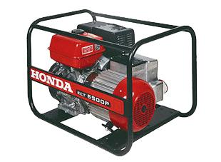 Бензиновый генератор Honda ECT 6500 P